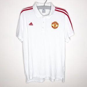 Adidas Manchester United Polo Shirt XL
